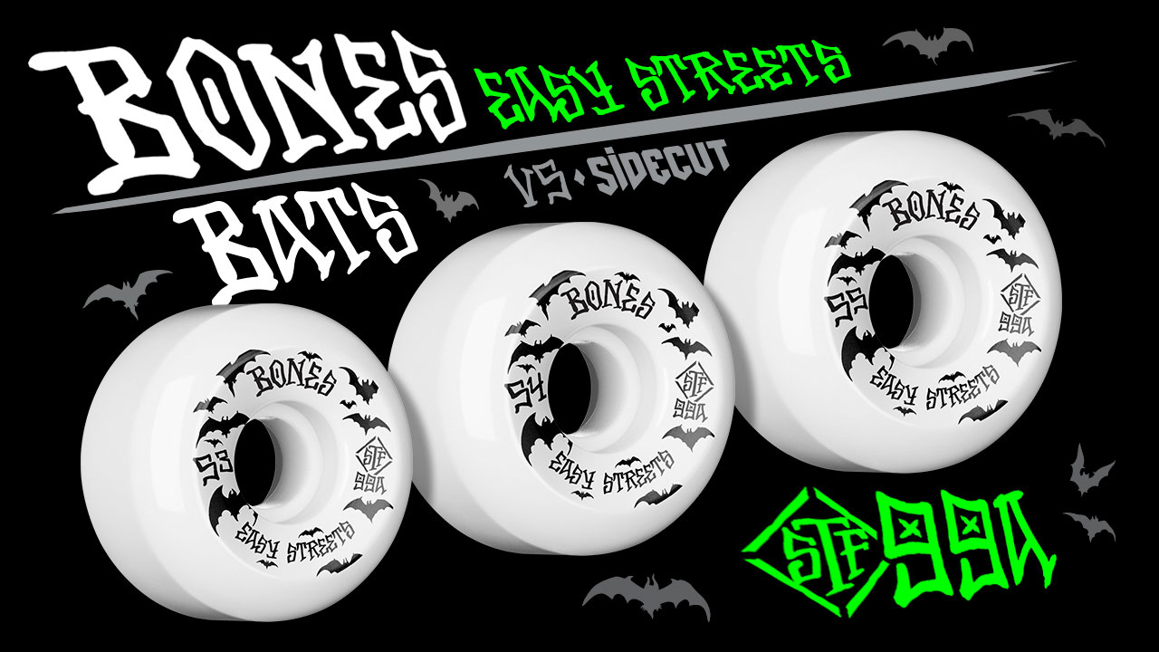 Bones Wheels - Bats Side Cut Wheels