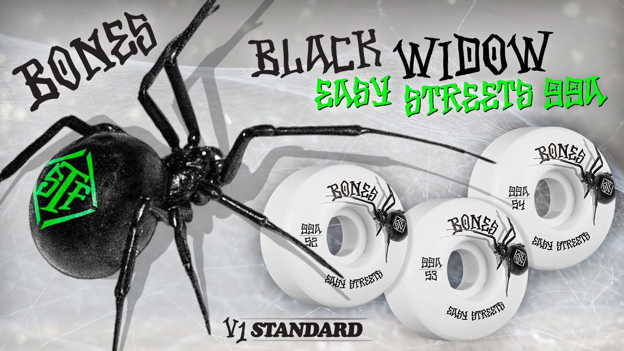 Bones Wheels - Black Widow Wheels
