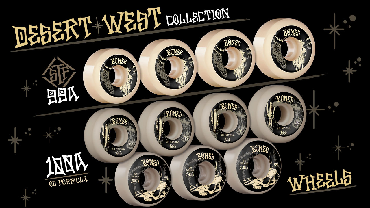 BONES WHEELS - Desert West Collection - Wheels