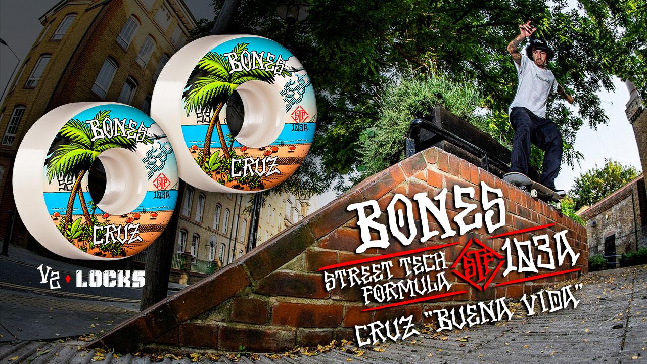 BONES WHEELS - Cruz 'Buena Vida