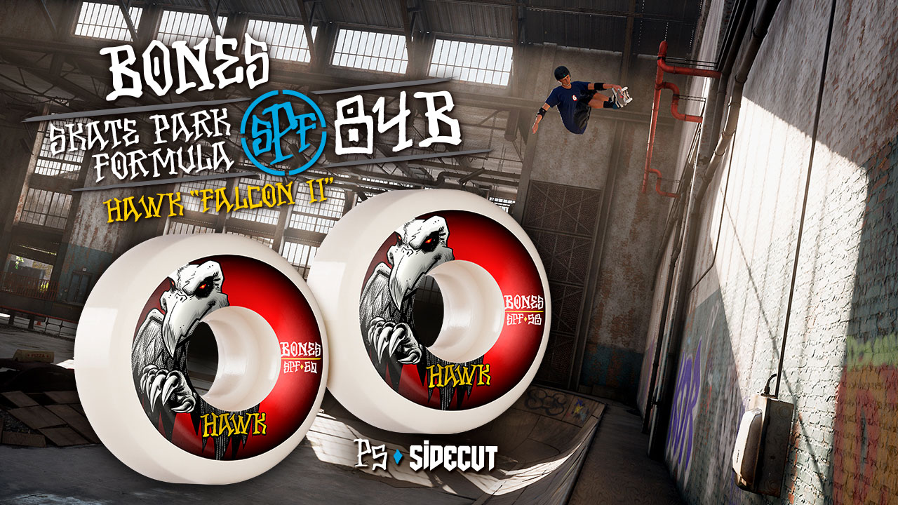 BONES WHEELS - Hawk 'Falcon II'