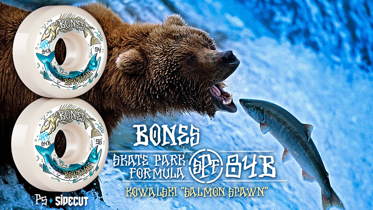 BONES WHEELS - Kowlaski 'Salmon'