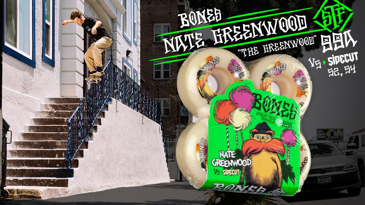 BONES WHEELS - Nate Greenwood 'The Greenwood'