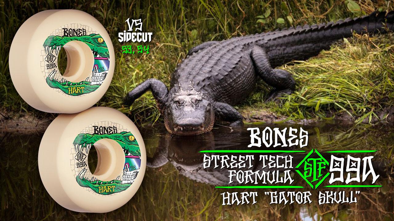 BONES WHEELS - Hart 'Gator Skull' Wheels