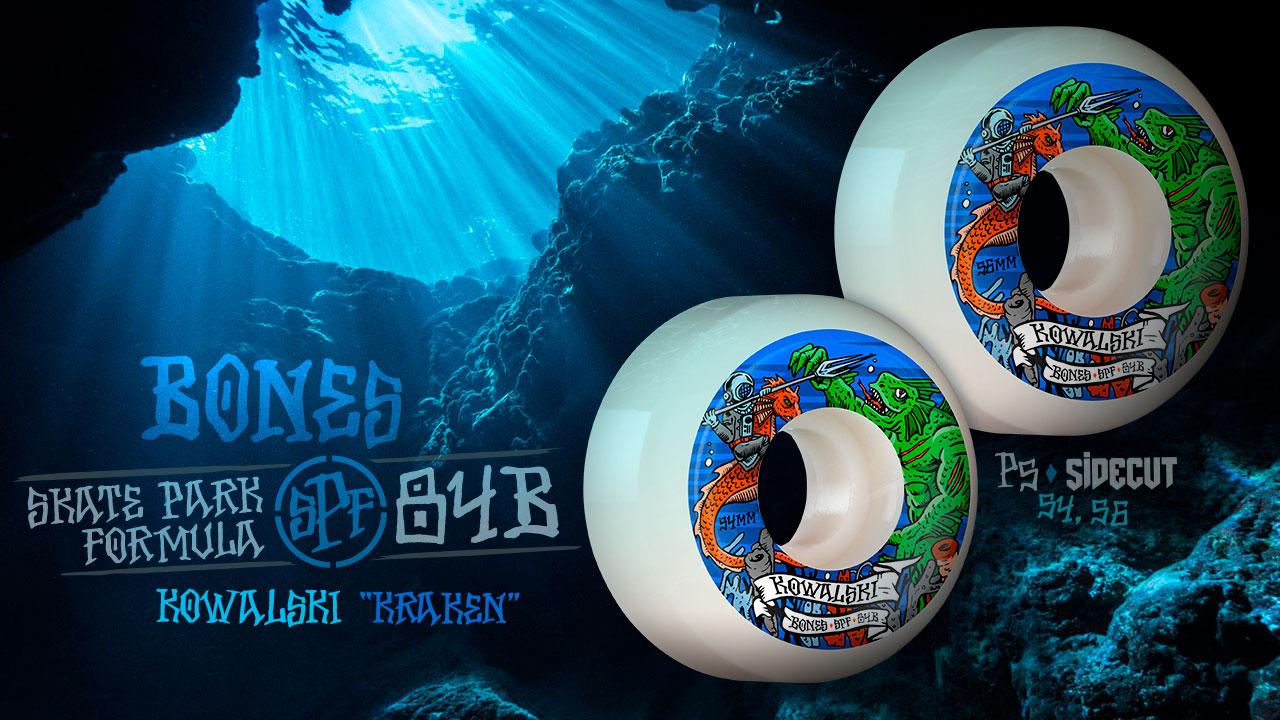 BONES WHEELS - Kowalski 'Kraken' Wheels