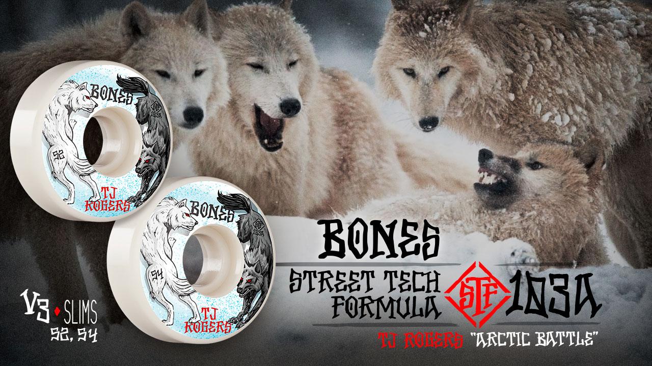BONES WHEELS - Rogers 'Arctic' Wheels