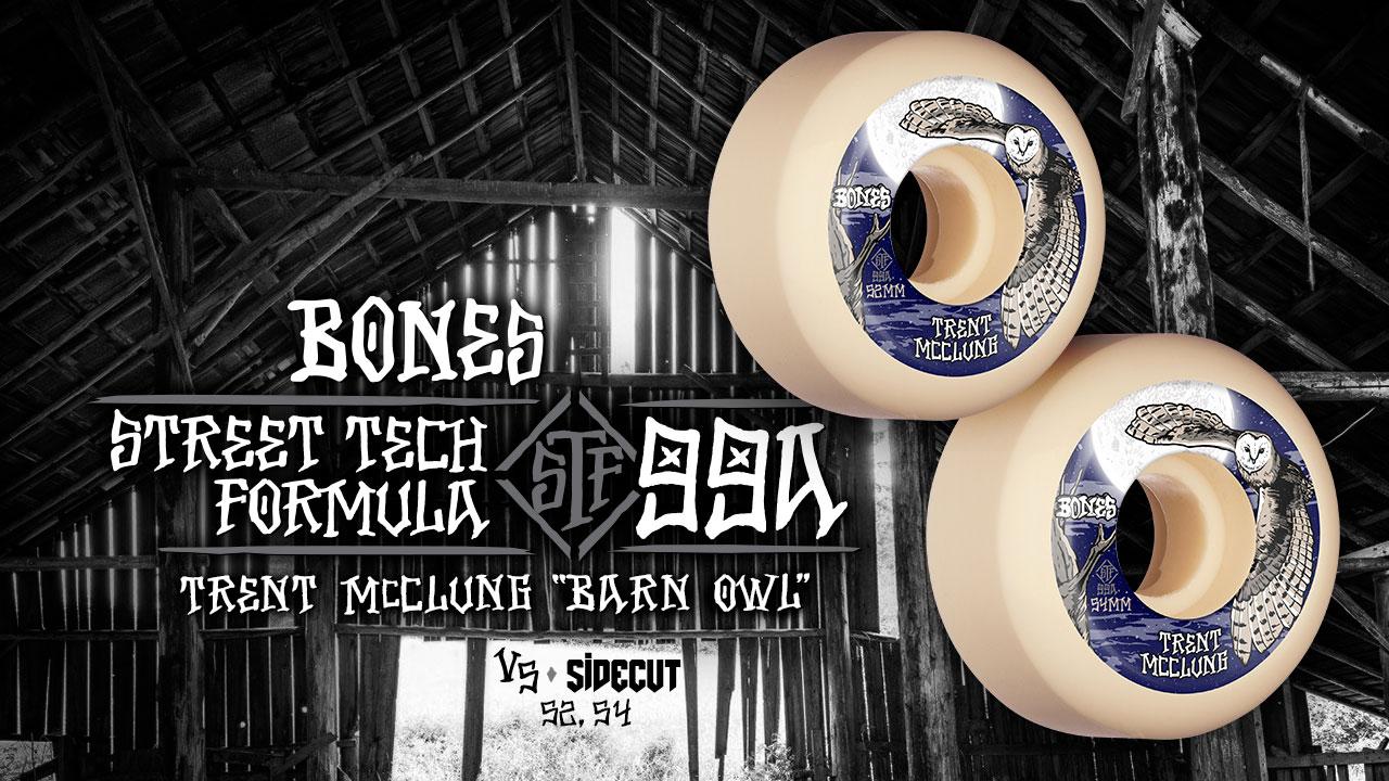 BONES WHEELS - McClung 'Barn Owl' Wheels
