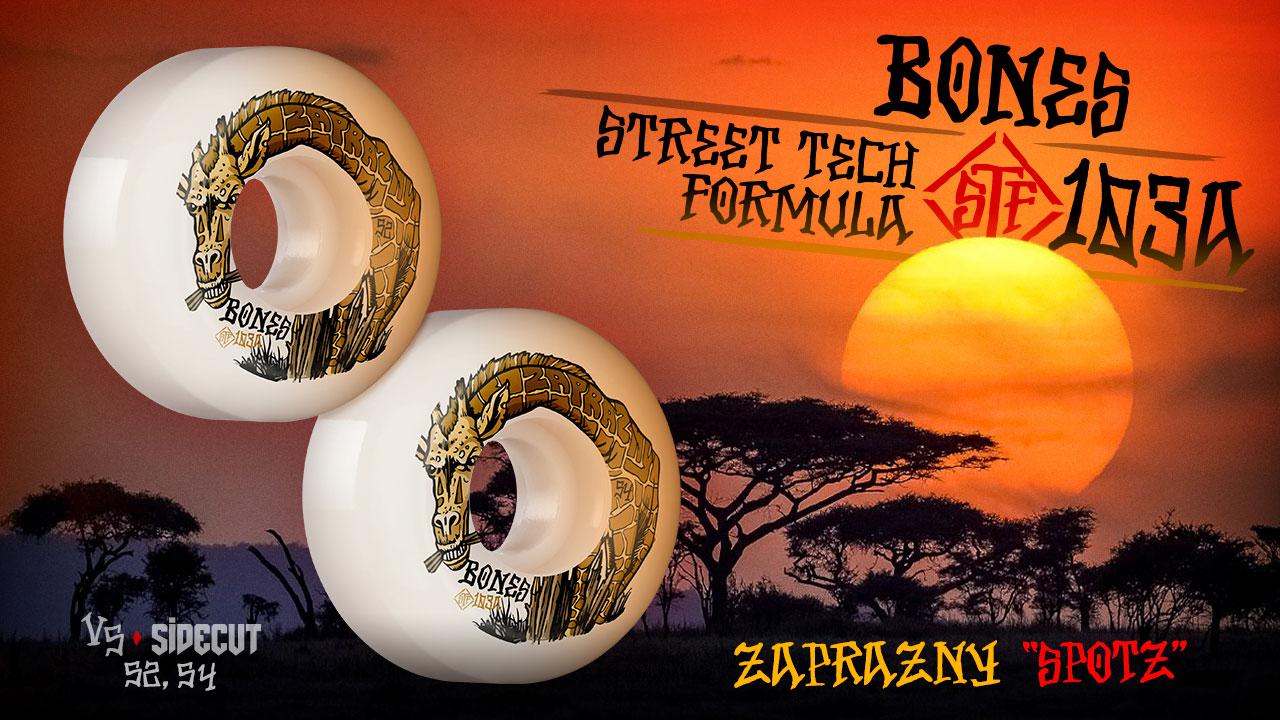 BONES WHEELS - Zaprazny 'Spotz' Wheels