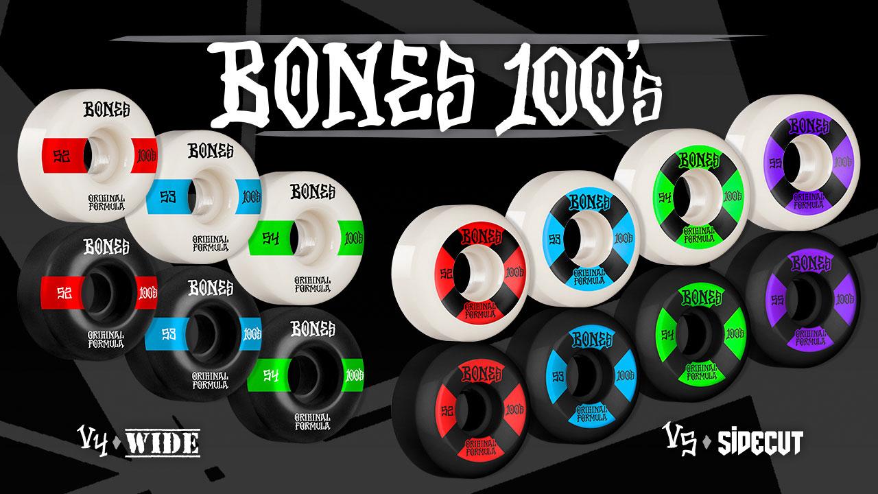BONES WHEELS - OG 100s