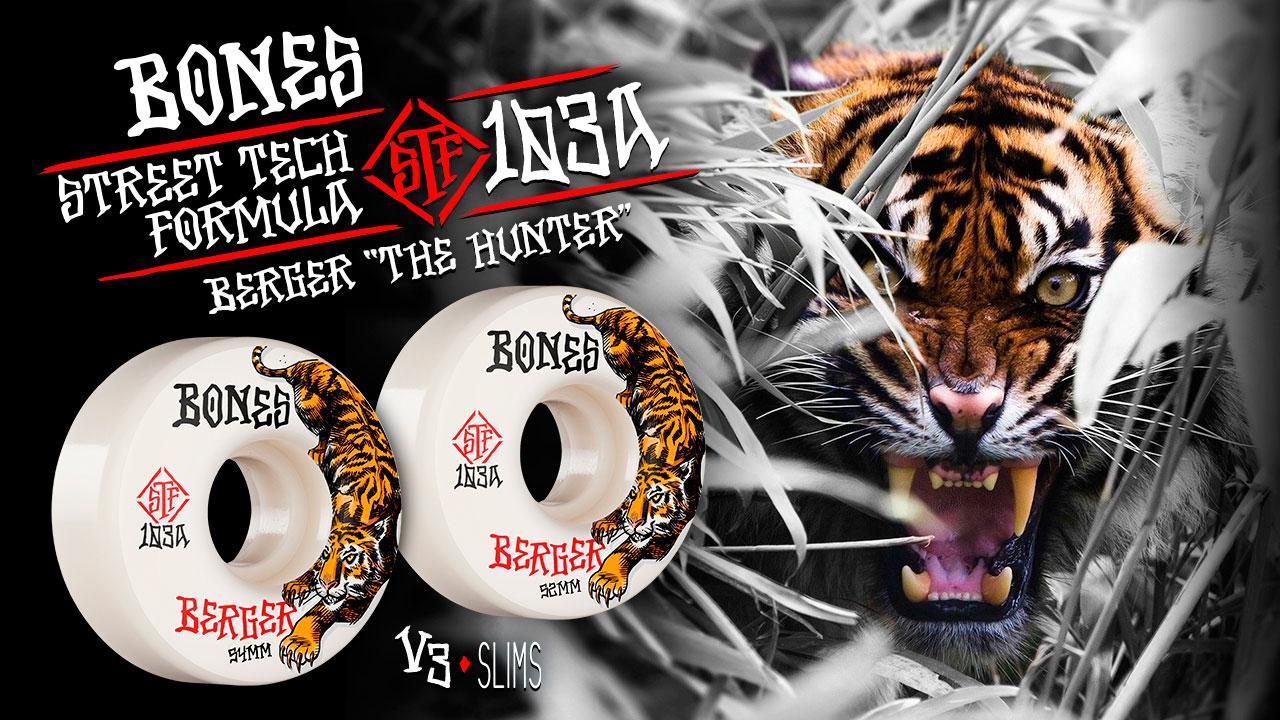BONES WHEELS - Berger 'The Hunter'