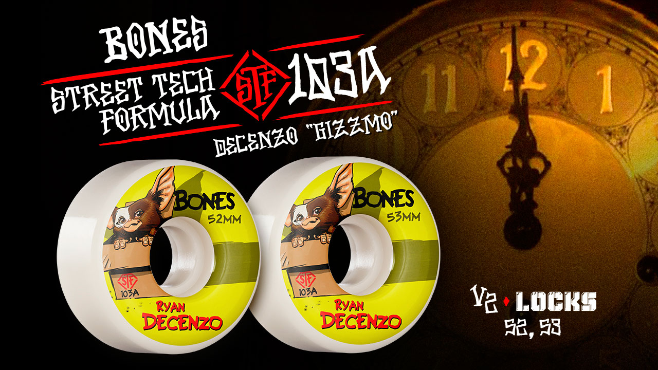 BONES WHEELS - Decenzo 'Gizzmo'