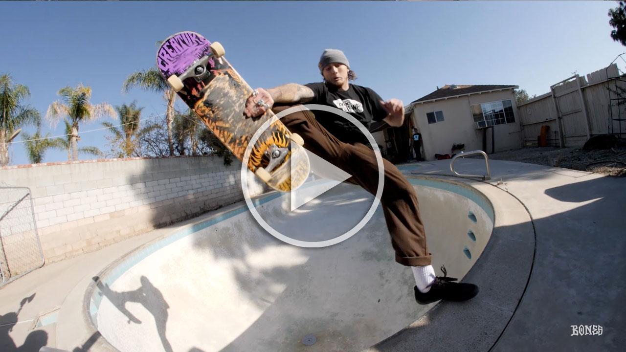 Chris Russell's new Snake Bite SPF Wheels