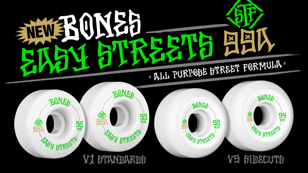 BONES Wheels Easy Streets