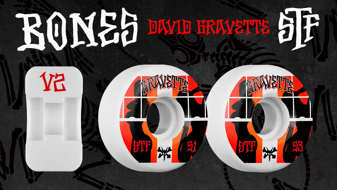 BONES David Gravette Peeps Skateboard Wheel