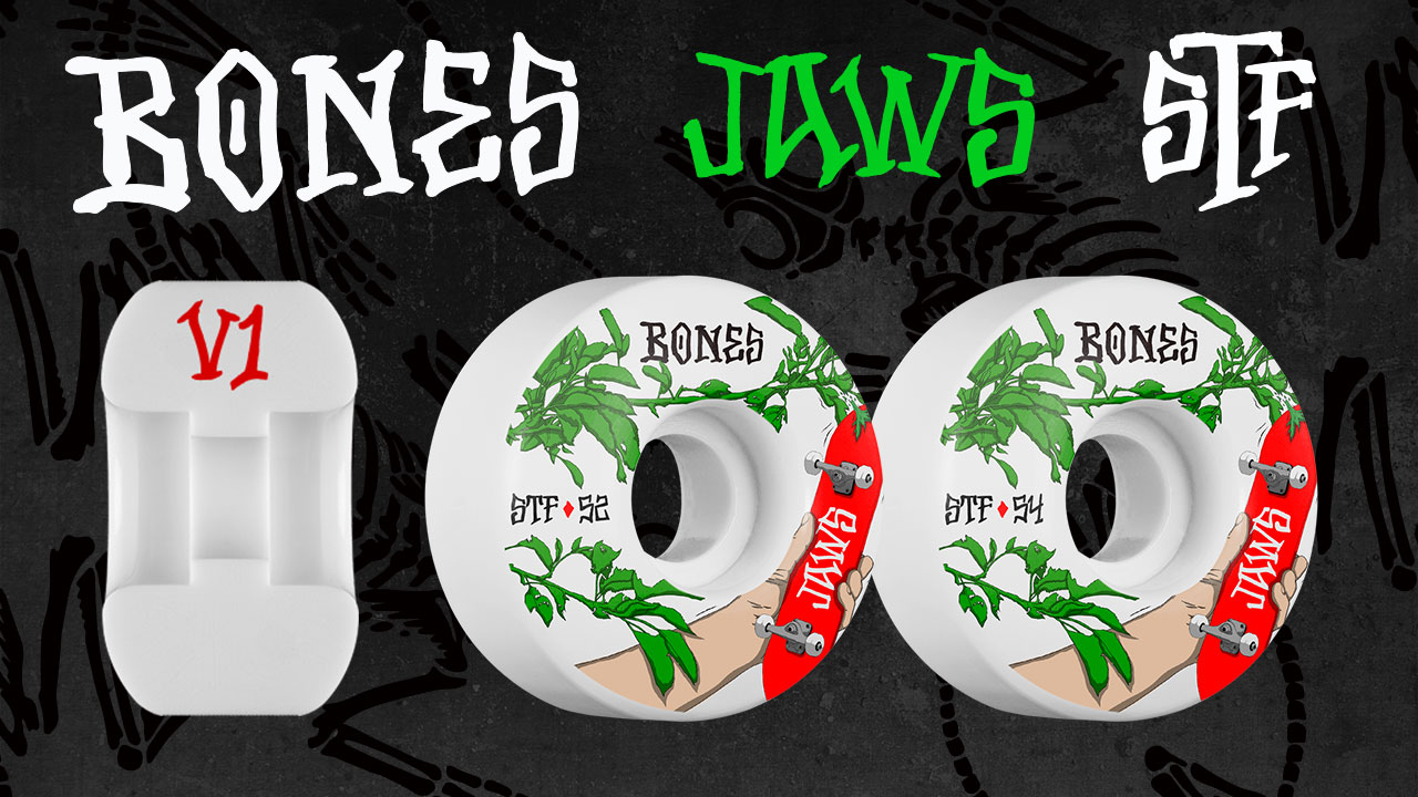 BONES Aaron 'Jaws' Homoki Forbidden Skateboard Wheel