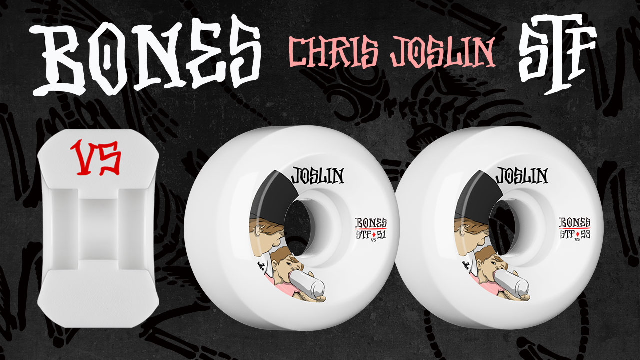 BONES Chris Joslin London Skateboard Wheel