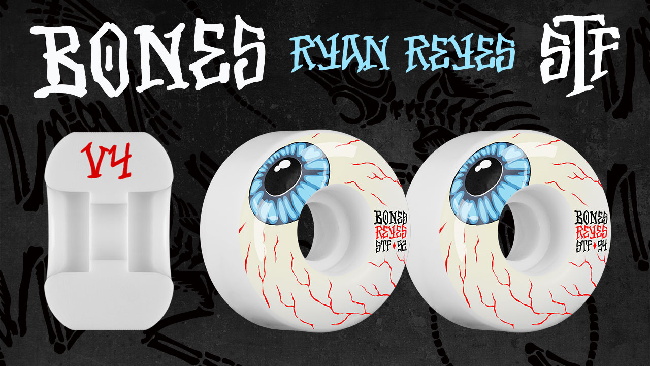 BONES Ryan Reyes Eyeball Skateboard Wheel