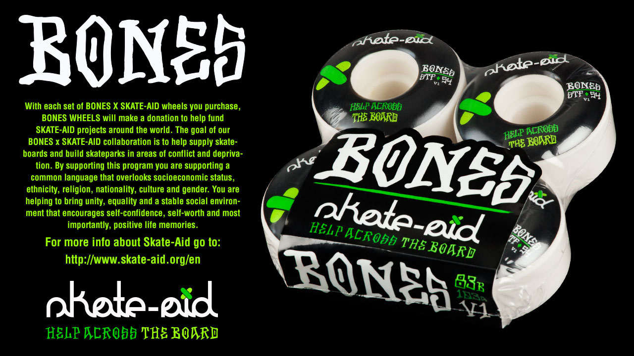 BONES Skate Aid Skateboard Wheel