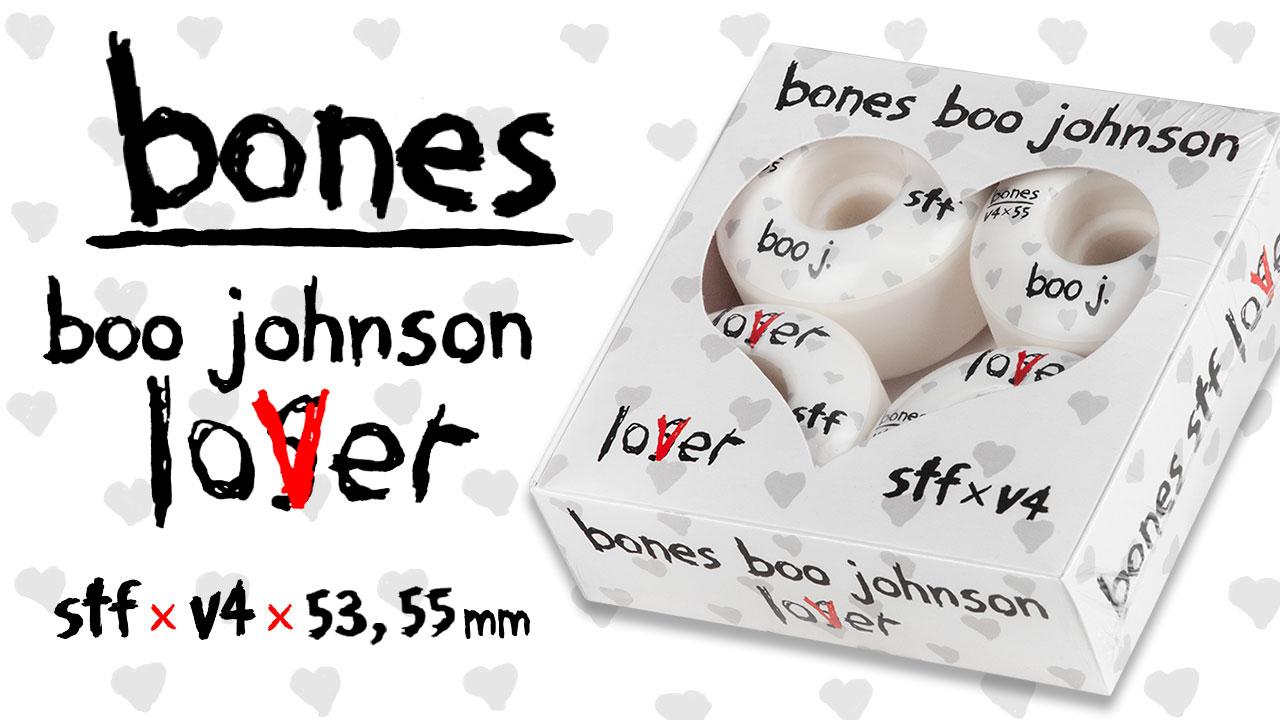 Boo Johnson Lover Wheels