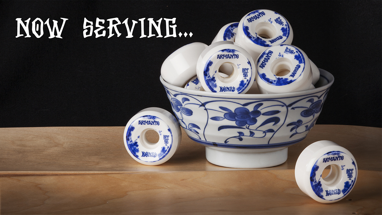 BONES Lizzie Armanto Blue China Skateboard Wheels