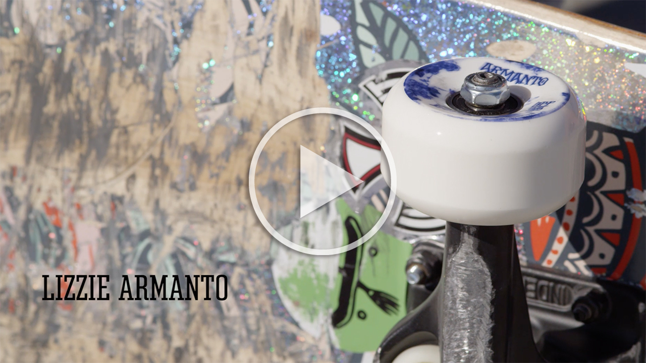 Lizzie Armanto's Pro Wheel - BONES Wheels