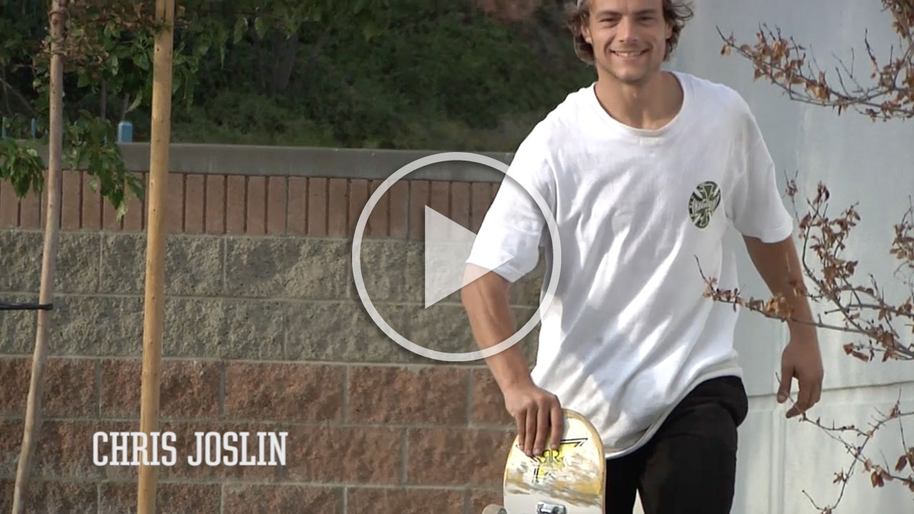 Chris Joslin - BONES WHEELS