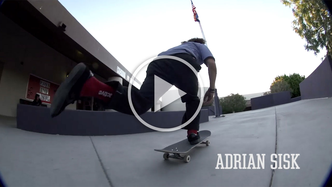 Adrian Sisk - BONES WHEELS 'BLANKS