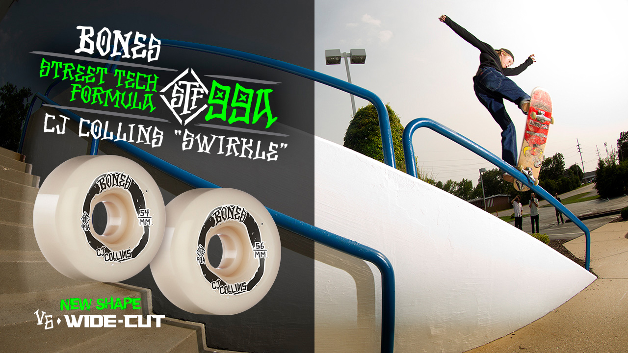 BONES WHEELS - Swirkle - CJ Collins