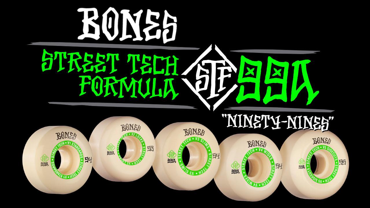 BONES WHEELS - STF 'Ninety-Nines'