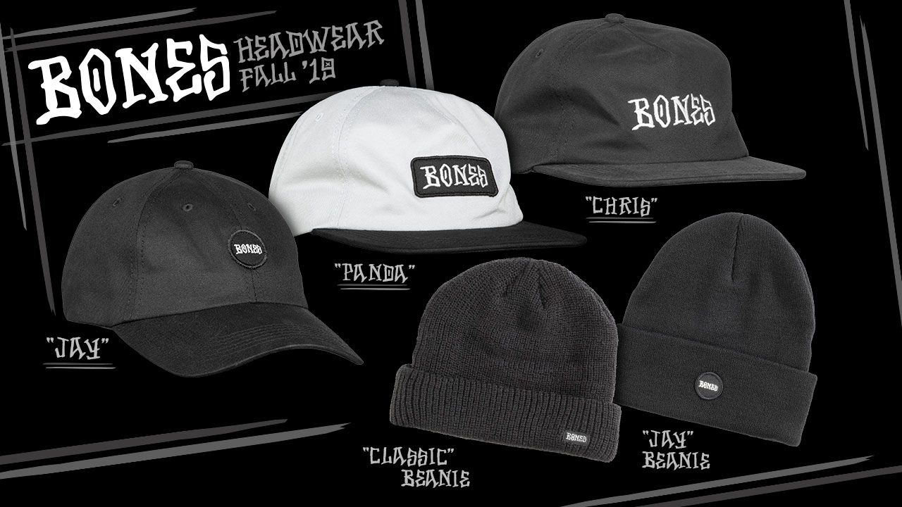 Bones Wheels - Caps and Beanies