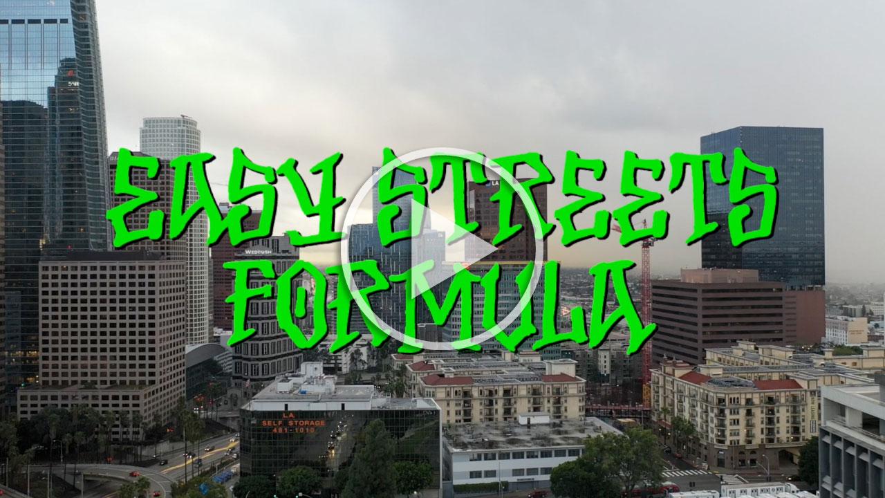 BONES WHEELS EASY STREETS FORMULA