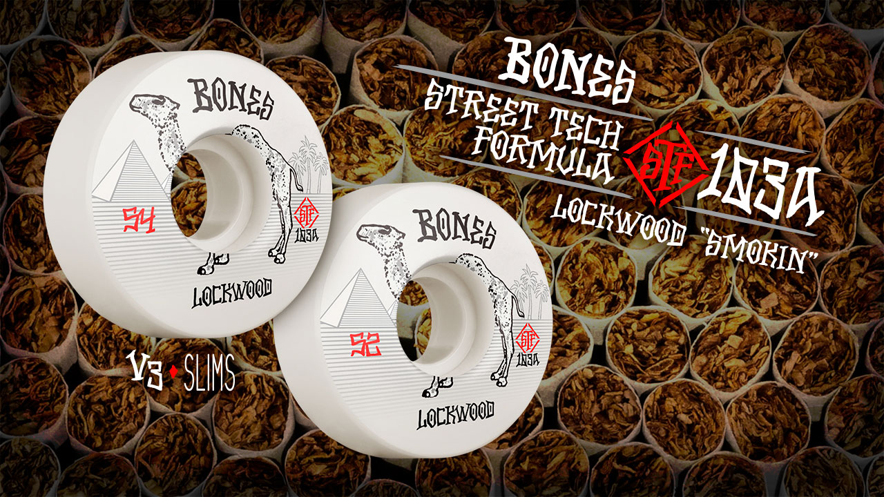 BONES WHEELS - Lockwood 'Smokin