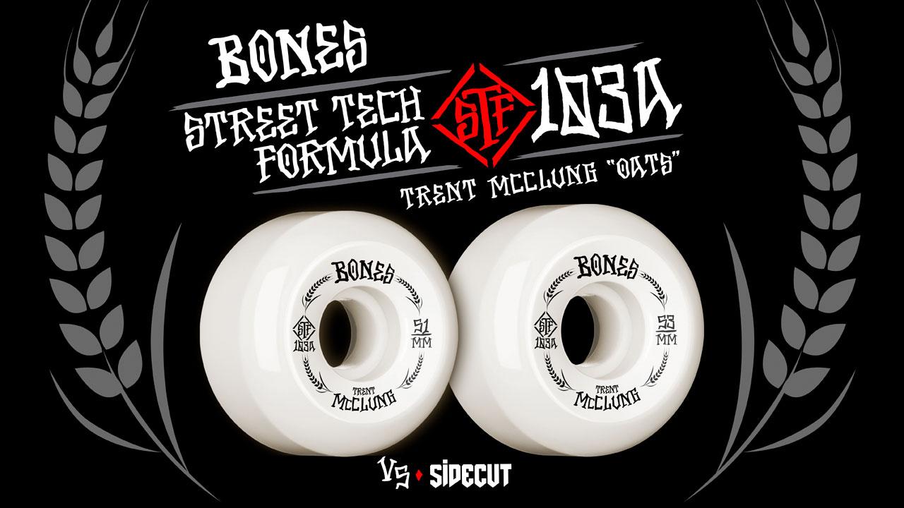 BONES WHEELS - Trent McClung 'Oats'