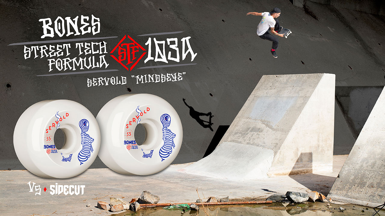 BONES WHEELS - Servold Mindseye Wheel