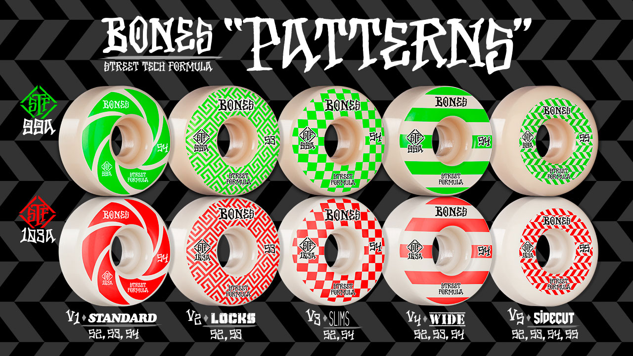 BONES WHEELS - STF Patterns