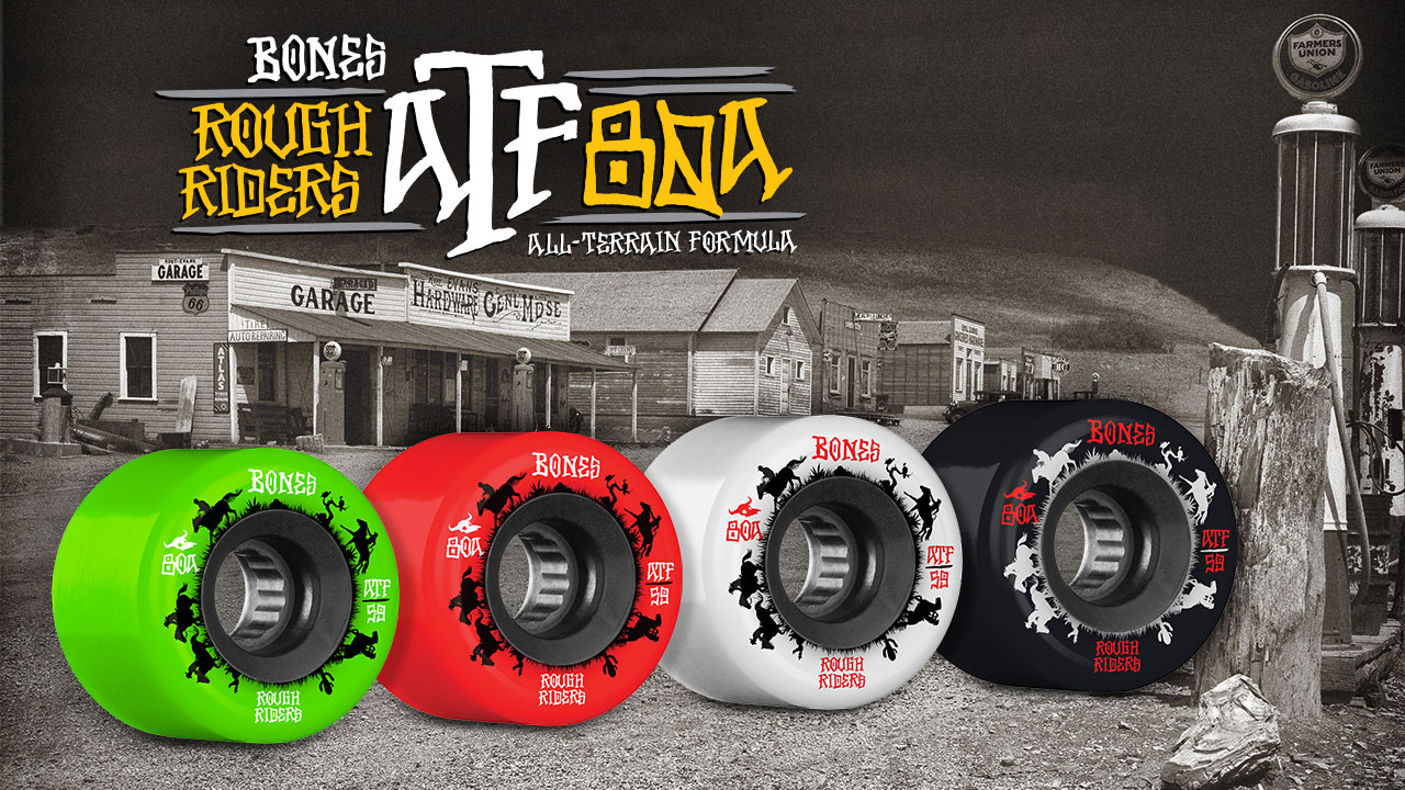 BONES WHEELS - Rough Rider Wranglers