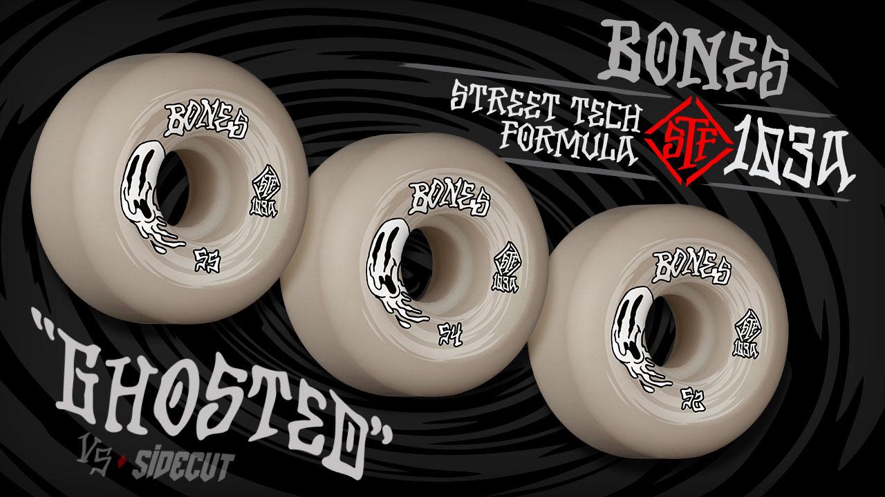 BONES WHEELS - 'Ghosted' Wheels