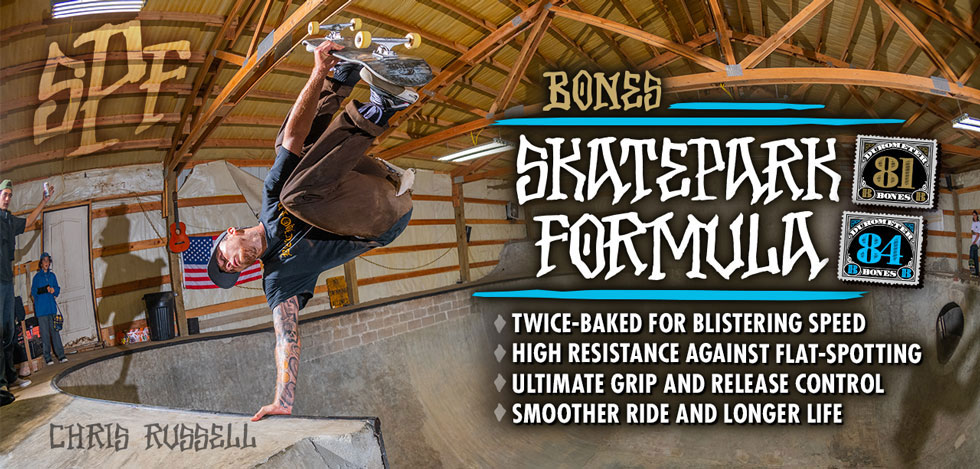 BONES WHEELS - SPF Skateboard Wheels