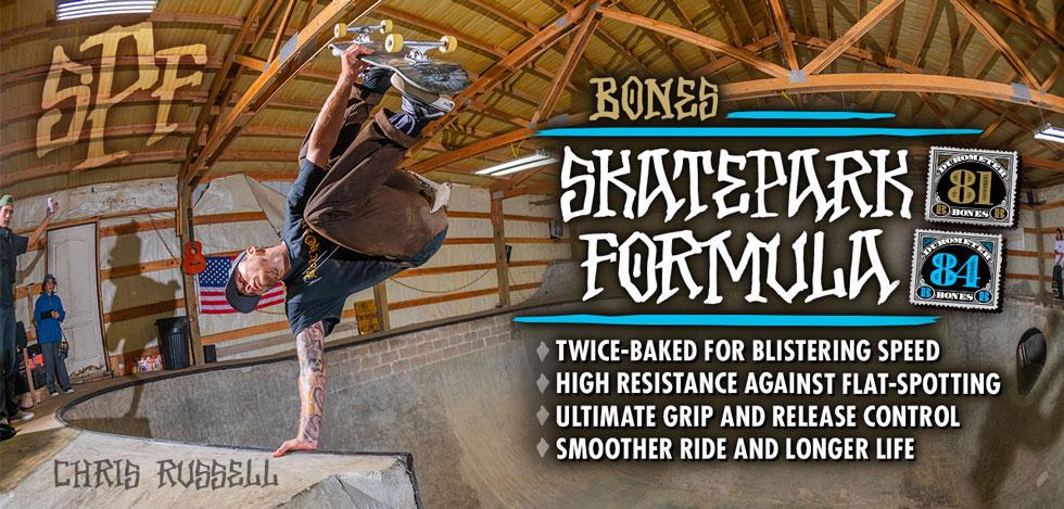 BONES WHEELS - SPF Skateboard Wheels