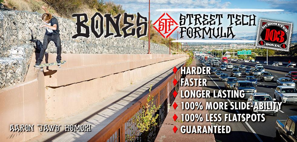 BONES WHEELS - STF 103a Skateboard Wheels