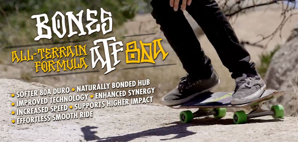 BONES WHEELS - All Terrain Formula