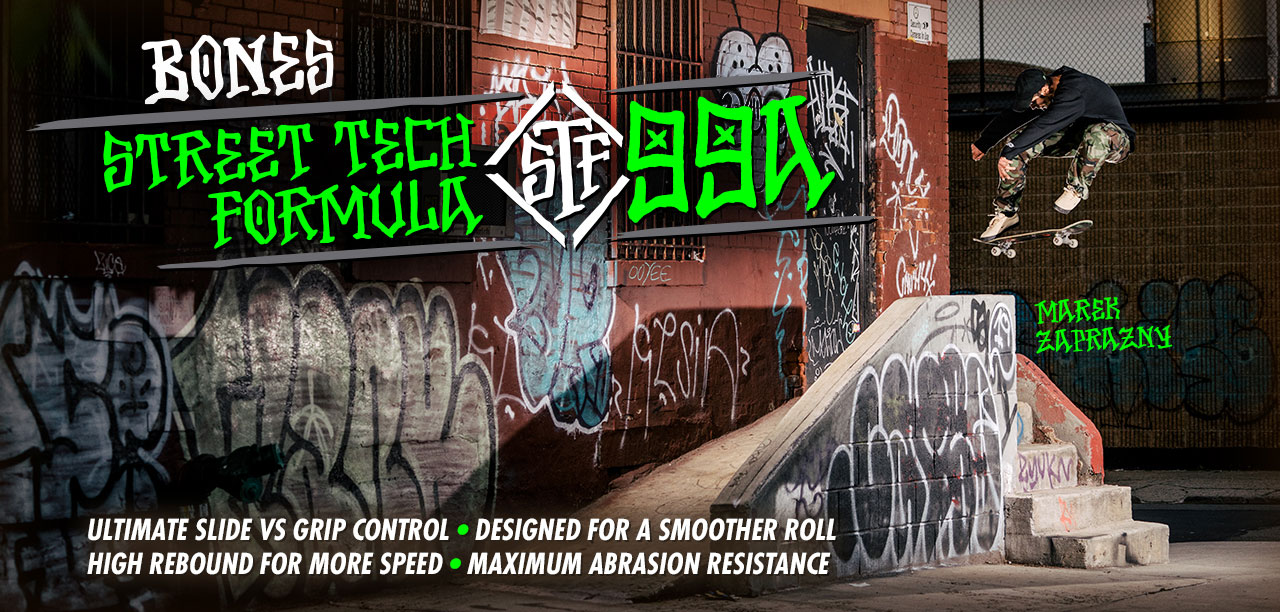 BONES WHEELS Street Tech Formula 99A
