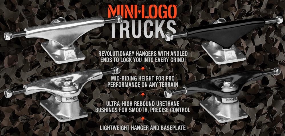 New Trucks & Subs! - Field Report - Mini Logo Skateboards
