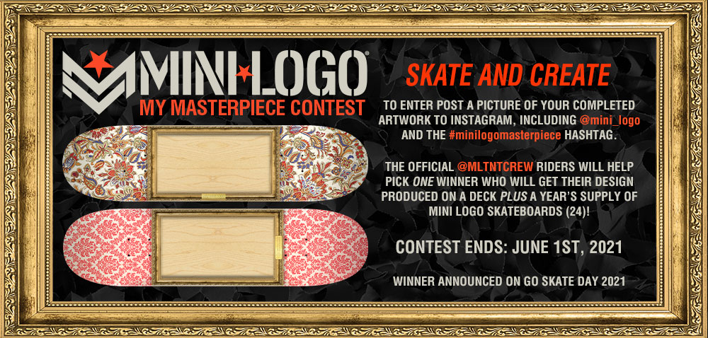 Mini Logo 'My Masterpiece Contest'