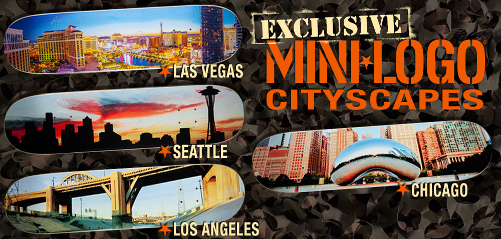 Mini Logo City Decks