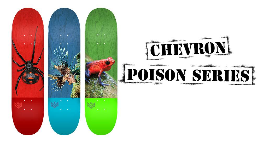 Mini Logo Poison Series Decks