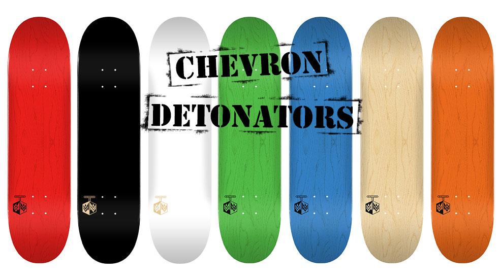 Mini Logo Detonator Series Decks