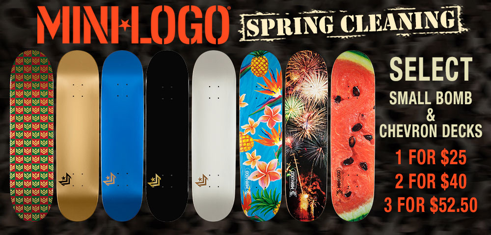 Mini Logo Spring Cleaning Sale