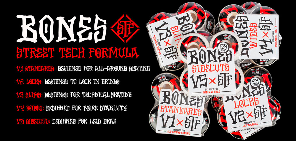 BONES STF WHEELS