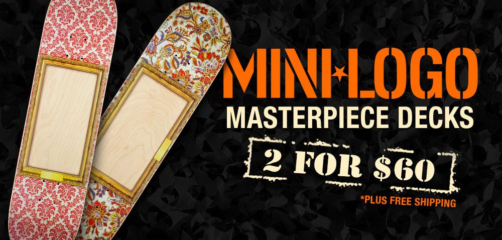 Mini Logo Masterpiece Deck Sale!